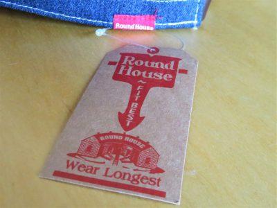 Round House(ラウンドハウス)の帽子の赤いタグ